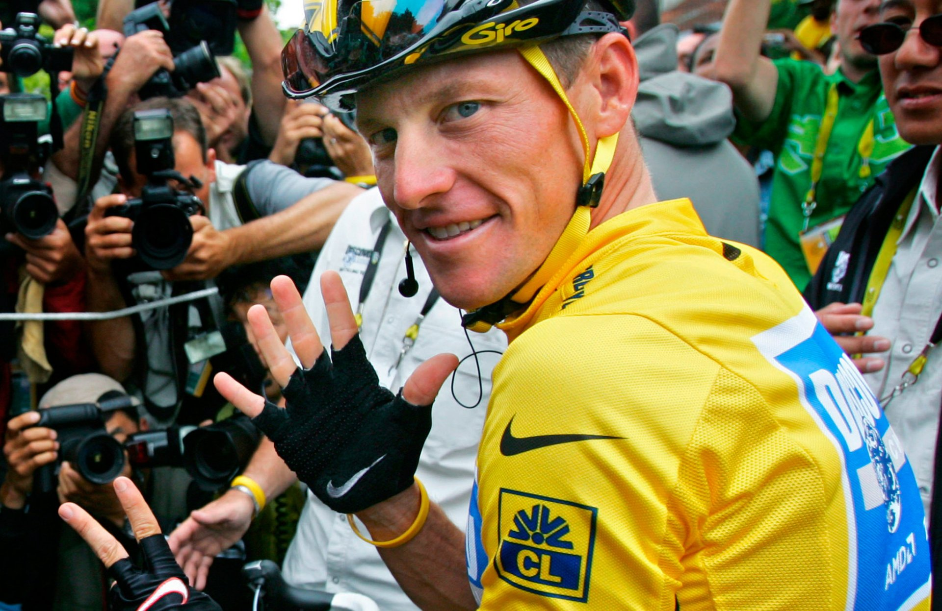 Lance Armstrong in 2005