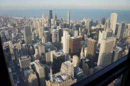 Chicago, northeast from Willis Tower