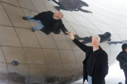 Touching myself at the Bean
