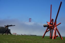 From GG Park, with bridge peaking out from the fog
