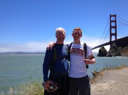 Kelly & Kevin at Golden Gate