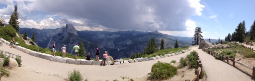 Glacier Point, looking across to Half Dome