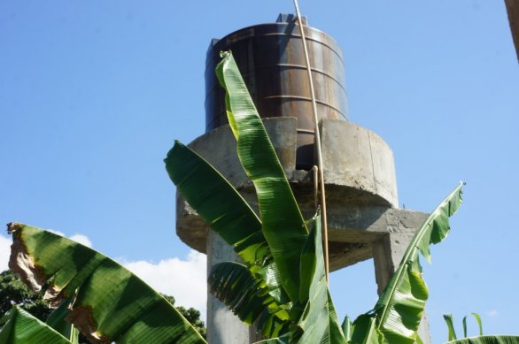 Haiti is 2 years into a drought (thanks, global warming) and water is a valuable commodity—and Eco-Village #1 has it.