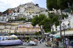 Positano, from the waterfront
