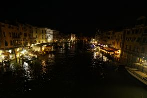 From Rialto Bridge.