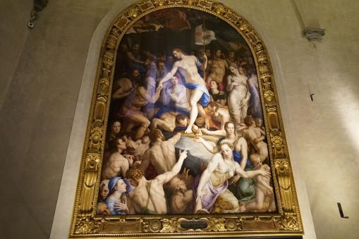 Jesus visits Limbo
