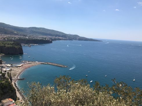 Sorrento, on the Amalfi Coast