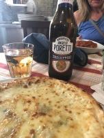 Quatro Formaggio pizza (blu cheese was the kicker)