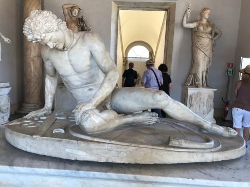 The Fallen Gaul in Capitoline Museum.